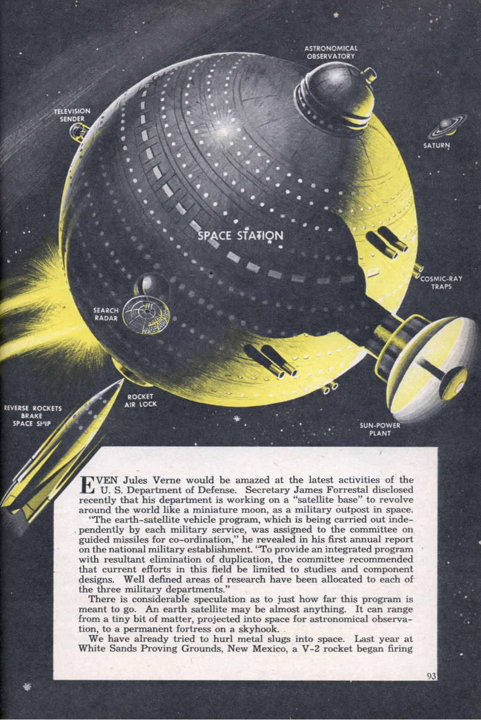 mechanix illustrated april 1949